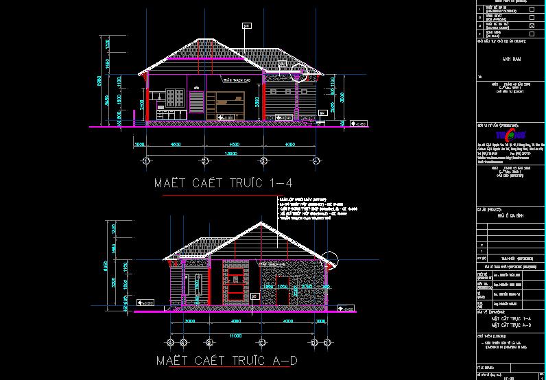 Hồ sơ mẫu biệt thự 11x13m nhà anh Nam Full