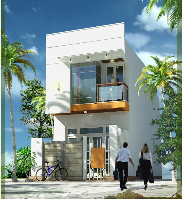 Hồ sơ thiết kế nhà phố 5x18m 2 tầng full