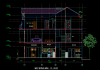 Bản vẽ thiết kết nhà phố 7x16m