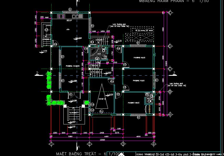 Mẫu biệt thự 2 tầng 14x14m Mẫu biệt thự 2 tầng