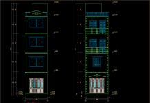 Mẫu thiết kế nhà phố 5 tầng