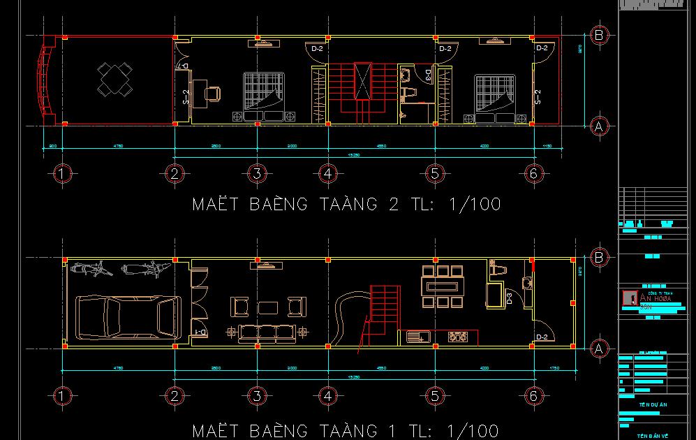 Mẫu nhà phố 3 tầng 58m2 Mẫu nhà phố 3 tầng 58m2 1