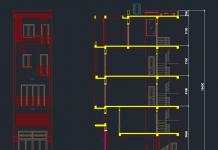 Mẫu nhà phố 4 tầng Full 4x8m