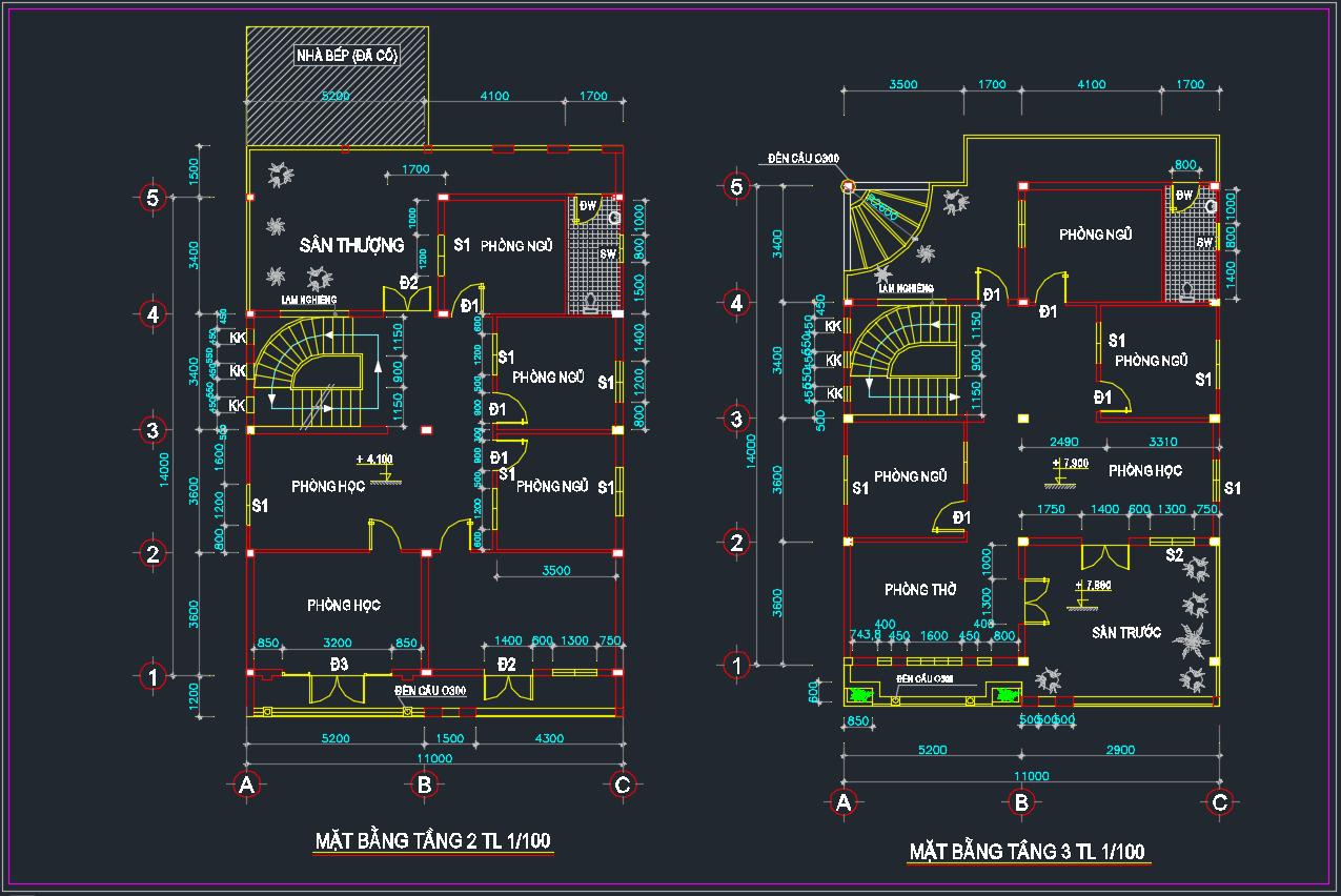 Hồ sơ thiết kế nhà ở gia đình Chú thích 2020 05 12 221334