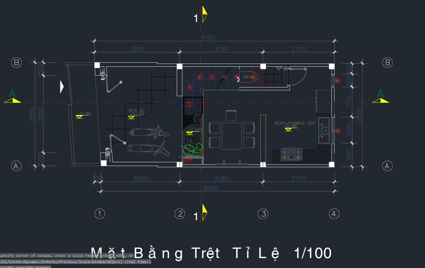 Mẫu nhà phố 4 tầng Full Chú thích 2020 05 17 202636