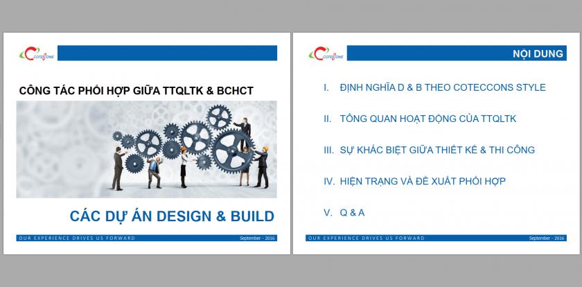 Công tác phối hợp giữa TTQLTK và BCHCT
