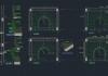 Tổng hợp 17 file thư viện cầu thang autocad