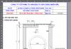 Bảng tính toán kết cấu hố ga