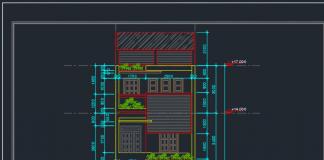 Mẫu nhà phố 5 tầng full TK