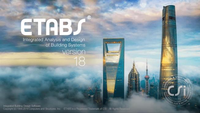 Download CSI ETABS 18 - Hướng dẫn cài đặt Captura