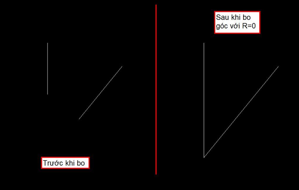 Lệnh bo góc trong cad – Bật mí 3 bước cách sử dụng hiệu quả nhất lenh bo goc 1024x652 1